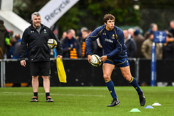 Dean Hammond of Worcester Warriors during the pre match warm up - Mandatory by-line: Craig Thomas/JMP - 27/01/2018 - RUGBY - Sixways Stadium - Worcester, England - Worcester Warriors v Exeter Chiefs - Anglo Welsh Cup