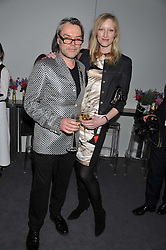 DAVID DOWNTON and JADE PARFITT at the Vogue Festival 2012 in association with Vertu held at the Royal Geographical Society, London on 20th April 2012.