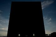 Palazzo della Civiltà Italiana o Colosseo Quadrato è un monumento dell'architettura fascista di Mussolini, realizzato dall'architetto Neo-classico Marcello Piacentini. Roma, 26 giugno 2013. Christian Mantuano / OneShot