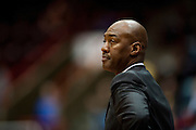 DALLAS, TX - JANUARY 6:  Head Coach Danny Manning of the Tulsa Golden Hurricane looks on as his team plays against the SMU Mustangs on January 6, 2013 at Moody Coliseum in Dallas, Texas.  (Photo by Cooper Neill/Getty Images) *** Local Caption *** Danny Manning