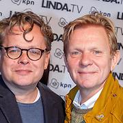 NLD/Amsterdam/20151026 - Lancering Linda TV, Frank Houtappel, Michiel van Erp