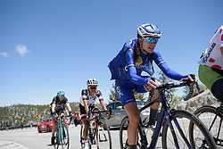 Tayler Wiles approaches the top of the climb at Amgen Breakaway from Heart Disease Women's Race empowered with SRAM (Tour of California) - Stage 2. A 108km road race in South Lake Tahoe, USA on 12th May 2017.
