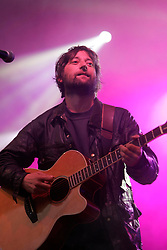 King Creosote on the Guitar stage, the Connect festival in Inveraray.<br /> &copy;Pic : Michael Schofield.