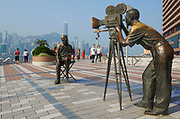 Chine, Hong Kong, Kowloon, Avenue of Stars // China, Hong Kong, Kowloon, Avenue of Stars