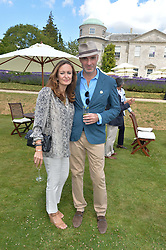LUCY YEOMANS and JASON BROOKS at the Cartier hosted Style et Lux at The Goodwood Festival of Speed at Goodwood House, West Sussex on 29th June 2014.