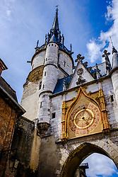 Street scene in Auxerre, France<br /> <br /> (c) Andrew Wilson | Edinburgh Elite media