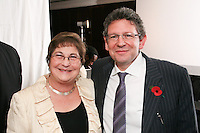Pauline Etkin and Lucian Grainge