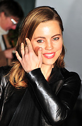 © Licensed to London News Pictures. 14/12/2011. London, England.Melissa George attends the English National Ballet: The Nutcracker - Christmas Performance in St Martins London .  Photo credit : ALAN ROXBOROUGH/LNP