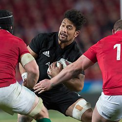 Ardie Savea during game 7 of the British and Irish Lions 2017 Tour of New Zealand, the first Test match between  The All Blacks and British and Irish Lions, Eden Park, Auckland, Saturday 24th June 2017<br /> (Photo by Kevin Booth Steve Haag Sports)<br /> <br /> Images for social media must have consent from Steve Haag