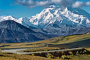 Photographs from Denali National Park of The Alaska Range, AK