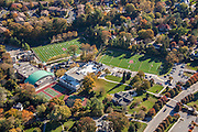 Baltimore aerial Image of Boys Latin School athletic field by Jeffrey Sauers of Commercial Photographics, Architectural Photo Artistry in Washington DC, Virginia to Florida and PA to New England