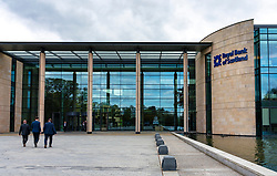 Royal Bank of Scotland  (RBS) headquarters at Gogar in Edinburgh, Scotland, UK