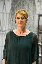 Karine Polwart prepares fro the world premiere of Wind Resistance at the Edinburgh Festival.<br /> <br /> (c) Ger Harley | Edinburgh Elite media