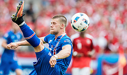 23.06.2016, Stade de France, St. Denis, FRA, UEFA Euro 2016, Island vs Oesterreich, Gruppe F, im Bild Johann Gudmundsson (ISL) // Johann Gudmundsson (ISL) during Group F match between Iceland and Austria of the UEFA EURO 2016 France at the Stade de France in St. Denis, France on 2016/06/23. EXPA Pictures © 2016, PhotoCredit: EXPA/ JFK
