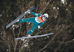 16.02.2020, Kulm, Bad Mitterndorf, AUT, FIS Ski Flug Weltcup, Kulm, Herren, im Bild Jurij Tepes (SLO) // Jurij Tepes of Slovenia during the men's FIS Ski Flying World Cup at the Kulm in Bad Mitterndorf, Austria on 2020/02/16. EXPA Pictures © 2020, PhotoCredit: EXPA/ JFK