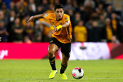 Raul Jimenez of Wolverhampton Wanderers - Mandatory by-line: Robbie Stephenson/JMP - 19/08/2019 - FOOTBALL - Molineux - Wolverhampton, England - Wolverhampton Wanderers v Manchester United - Premier League