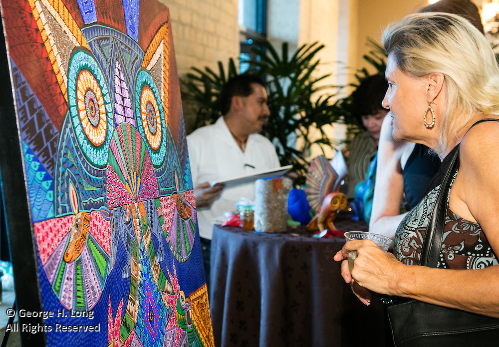 Mezcal y Arte Oaxaqueño Event Day 1 at the Omni Riverfront New Orleans Hotel