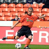 Dundee Utd v Hearts...7.04.01<br />David Hannah<br /><br />Pic by Graeme Hart<br />Copyright Perthshire Picture Agency<br />Tel: 01738 623350 / 07990 594431