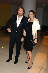 SIMON & YASMIN LE BON at a Burns Night supper in aid of Clic Sargent & Children's Hospital Association Scotland hosted by Ewan McGregor, Sharleen Spieri and Lady Helen Taylor at St.Martin's Lane Hotel, 45 St Martin's Lane, London on 25th January 2006.<br /><br />NON EXCLUSIVE - WORLD RIGHTS