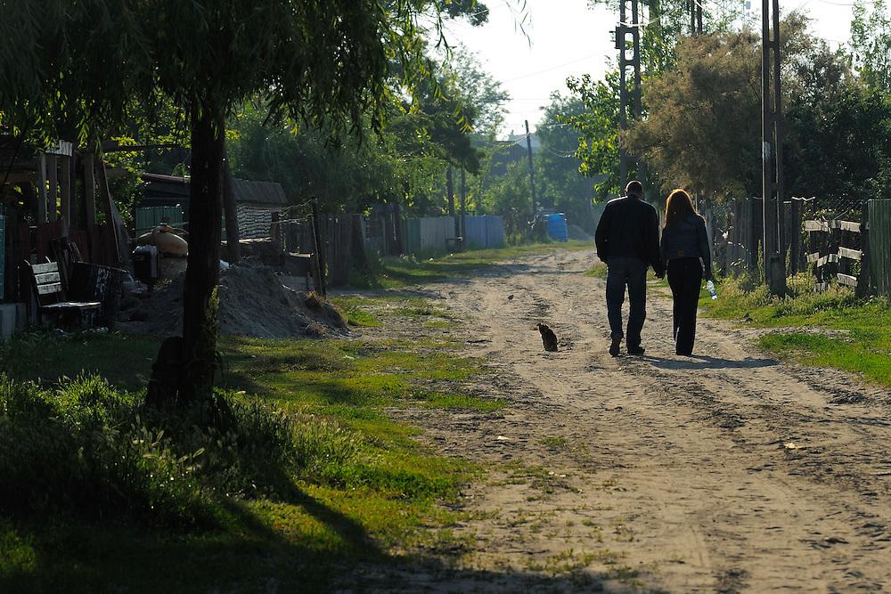 Sfinthu Gheorghe, Danube delta rewilding area, Romania