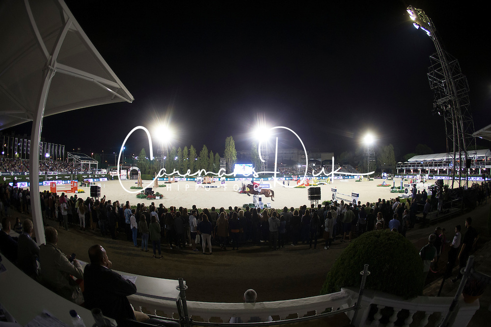Overview arena, FEI President<br /> Logines Challenge Cup<br /> Furusiyya FEI Nations Cup Jumping Final - Barcelona 2015<br /> &copy; Dirk Caremans<br /> 25/09/15