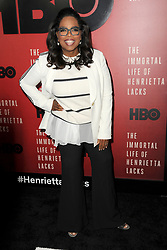 April 18, 2017 - New York, NY, USA - April 18, 2017  New York City..Oprah Winfrey attending 'The Immortal Life of Henrietta Lacks' premiere at SVA Theater on April 18, 2017 in New York City. (Credit Image: © Kristin Callahan/Ace Pictures via ZUMA Press)