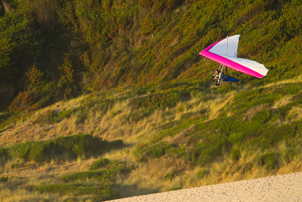 Hang gliding on Kiwanda Point dune. The Oregon Coast, a classic, beautiful road trip. Heading West from Portland to Tillamook, with a detour to the fishing village of Garibaldi, through Cape Lookout State Park and on to our final destination of Pacific City.