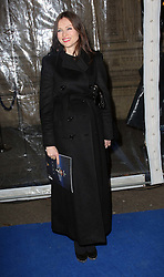 Sophie Ellis Bextor arriving at the Cirque Du Soleil: Totem - gala night held at  the Royal Albert Hall in London, Thursday 5th January 2012. Photo by: Stephen Lock / i-Images