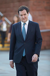 George Osborne at the Conservative Party Conference, Manchester, United Kingdom. Sunday, 29th September 2013. Picture by i-Images