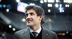 23.10.2014, Red Bull Arena, AUT, UEFA EL, FC Red Bull Salzburg vs Dinamo Zagreb, Gruppe D, im Bild Trainer Zoran Mamic (Dinamo Zagreb) // Head Coach Zoran Mamic (Dinamo Zagreb) during the UEFA Europa League Group D Match between FC Red Bull Salzburg and Dinamo Zagreb at the Red Bull Arena in Salzburg, Austria on 2014/10/23. EXPA Pictures © 2014, PhotoCredit EXPA/ JFK