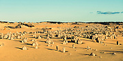 The Pinnacles in Nambung National Park of Western Australia