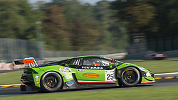 September 23, 2018 - Imperiale Racing (Agostini/Breukers) at first chicane in Monza during the second qualifying session of International GT Open 2018. (Credit Image: © Riccardo Righetti/ZUMA Wire)