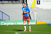 Tony McMahon (29) of Bradford City  warming up before the EFL Sky Bet League 1 match between Portsmouth and Bradford City at Fratton Park, Portsmouth, England on 28 October 2017. Photo by Graham Hunt.
