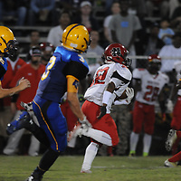 Laney High School hosted New Bern High School in football Friday September 19, 2014. (Jason A. Frizzelle)