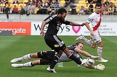 Wellington-Football, A-League, Phoenix v Melbourne Heart