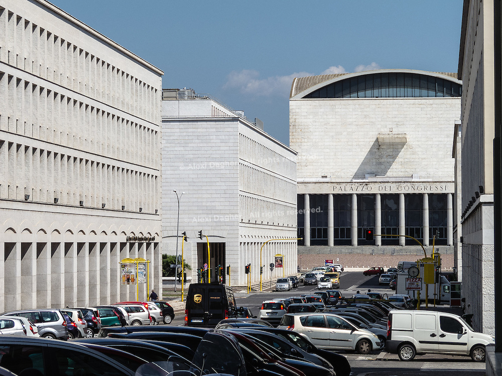 EUR District office buildings complex - Rome, Italy 2014