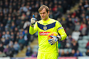 Notts County goalkeeper Roy Carroll during the Sky Bet League 2 match between Plymouth Argyle and Notts County at Home Park, Plymouth, England on 27 February 2016. Photo by Graham Hunt.