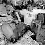 NI—OS DE PORAI - Homenaje a Mariano Diaz.Photography by Aaron Sosa.Archipielago de Los Testigos.Dependencias Federales - Venezuela 2005.(Copyright © Aaron Sosa)