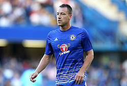 John Terry of Chelsea warms up - Mandatory by-line: Robbie Stephenson/JMP - 15/08/2016 - FOOTBALL - Stamford Bridge - London, England - Chelsea v West Ham United - Premier League