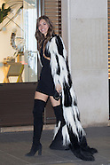 Paris - Victoria's Secret Models Arrive At After Party - 30 Nov 2016