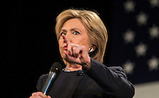 Democratic presidential candidate, Hillary Rodham Clinton's town hall meeting at the Rochester Opera House in Rochester, N.H. Friday, Jan. 22, 2016.  CREDIT: Cheryl Senter for The New York Times