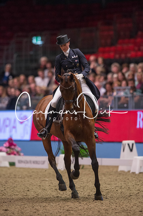 Oatley Lyndal (AUS) - Sandro Boy 9<br /> Reem Acra FEI World Cup Dressage <br /> London International Horse Show Olympia 2013<br /> &copy; Hippo Foto - Jon Stroud