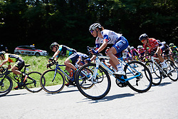 Greta Richioud (FRA) on Stage 2 of 2019 Giro Rosa Iccrea, an 78.3 km road race starting and finishing in Viù, Italy on July 6, 2019. Photo by Sean Robinson/velofocus.com
