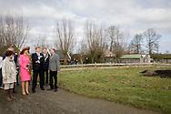 Gouderak, 21-2-2017 <br /> <br /> King Willem-Alexander and Queen Maxima visit Krimpernerwaard.<br /> <br /> Visit Farm<br /> <br /> PUBLICATION ON:Y IN FRANCE<br /> <br /> COPYRIGHT: ROYALPORTRAITS EUROPE/ BERNARD RUEBSAMEN