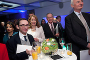 VERONICA WADLEY; SIMON JENKINS, LA Philharmonic reception, Fountain room, Barbican. 27 January 2011 -DO NOT ARCHIVE-© Copyright Photograph by Dafydd Jones. 248 Clapham Rd. London SW9 0PZ. Tel 0207 820 0771. www.dafjones.com.