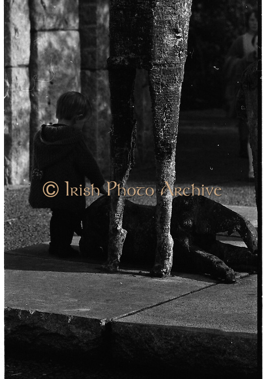 Children Playing at Stephens Green (Press Picture of the Year).<br /> 27.03.1968