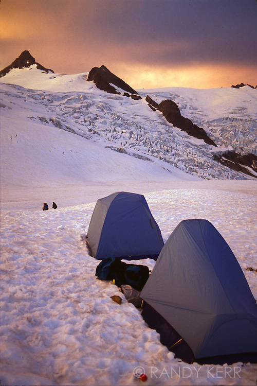Base camp on Mount Shuksan