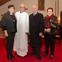 Pauline Conheady, Fr Tom O'Gorman, Former Clare Hurling Manager Len Gaynor and Anne McNamara