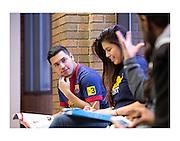 U-M Flint student, campus and civic engagement photos on Nov. 18, 2013.