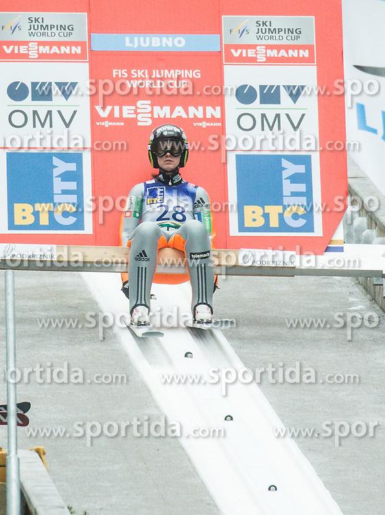 LOGAR Eva (SLO)  during 2nd Round at Day 2 of World Cup Ski Jumping Ladies Ljubno 2017, on February 12, 2016 in Ljubno ob Savinji, Slovenia. Photo by Vid Ponikvar / Sportida